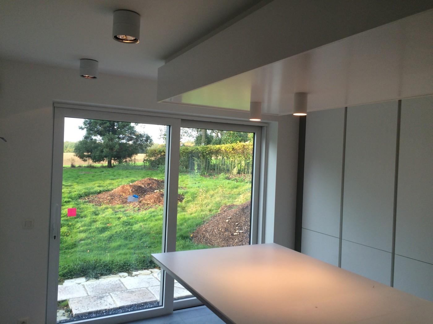 domotique et clairage d une villa waterloo bsv domelec. Black Bedroom Furniture Sets. Home Design Ideas