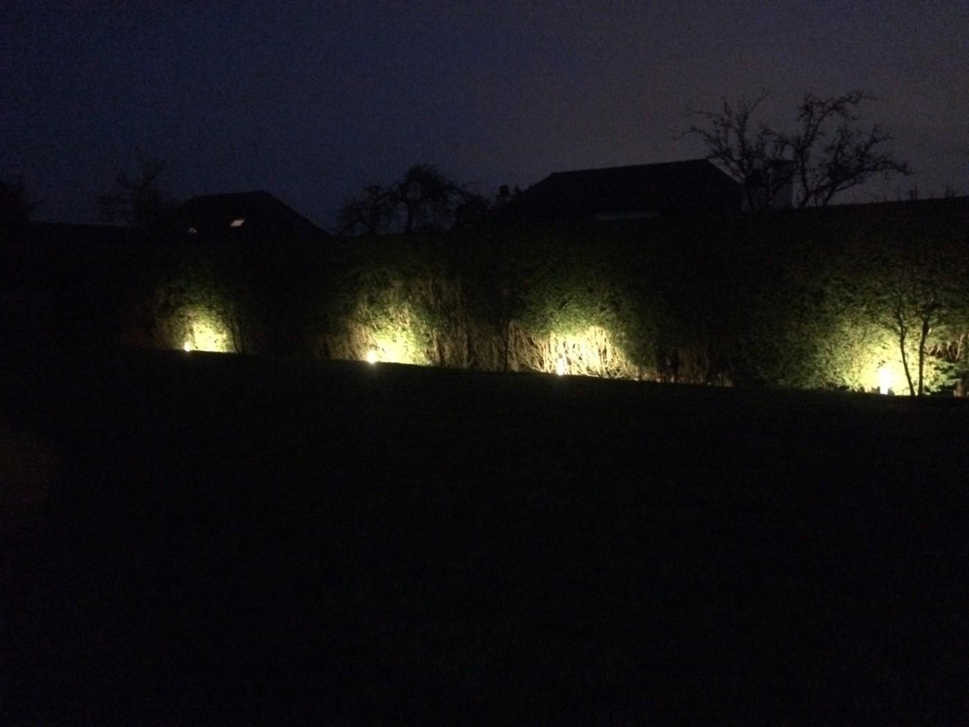 eclairage exterieur waterloo